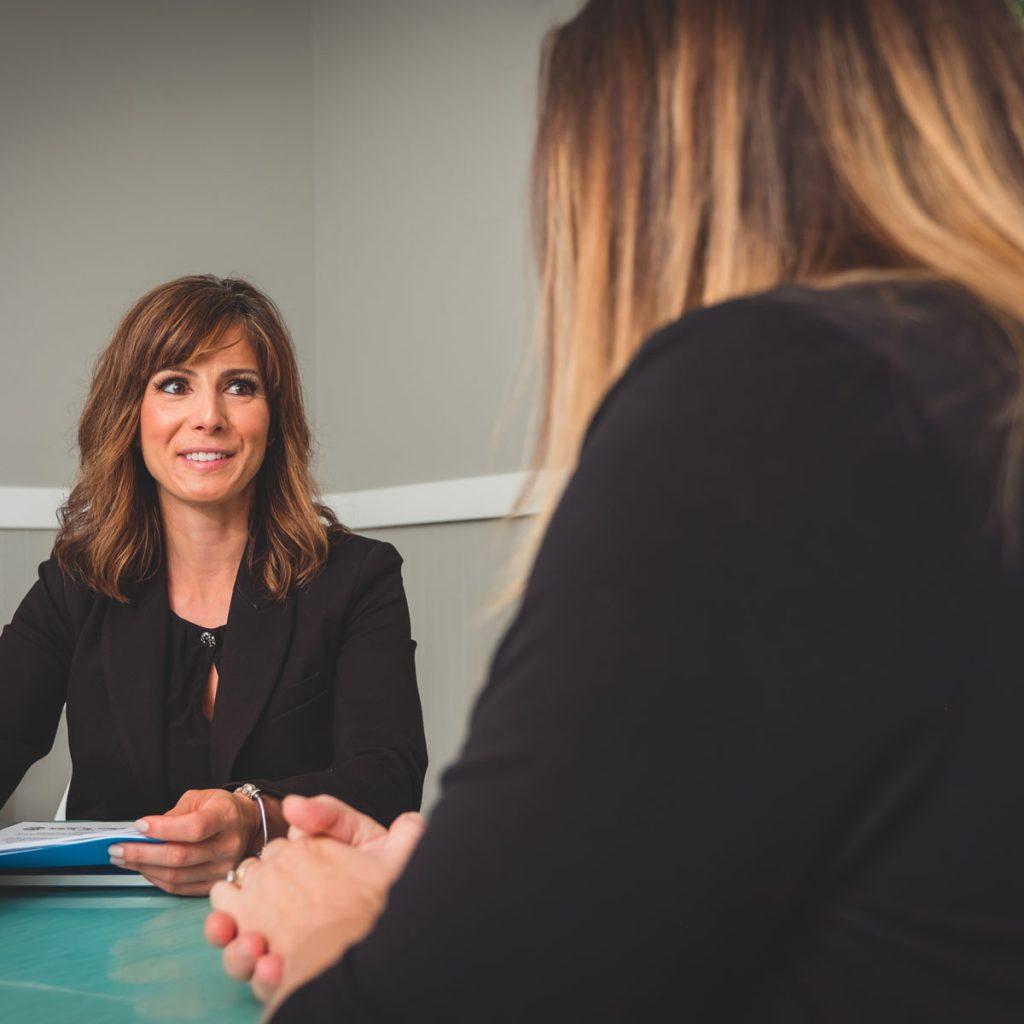 Family Law Firm Attorneys Rachel Hernandez Helping Client