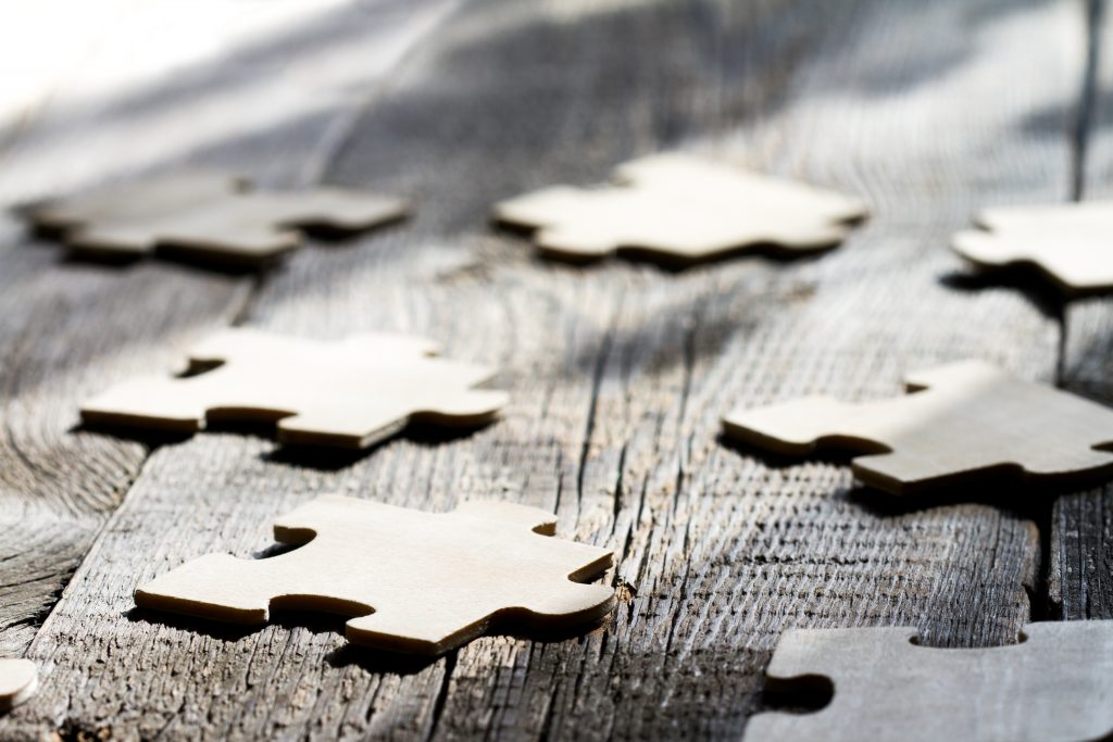 Bruckner Hernandez Legal Solutions LLC Uncontested Divorce Puzzle Pieces